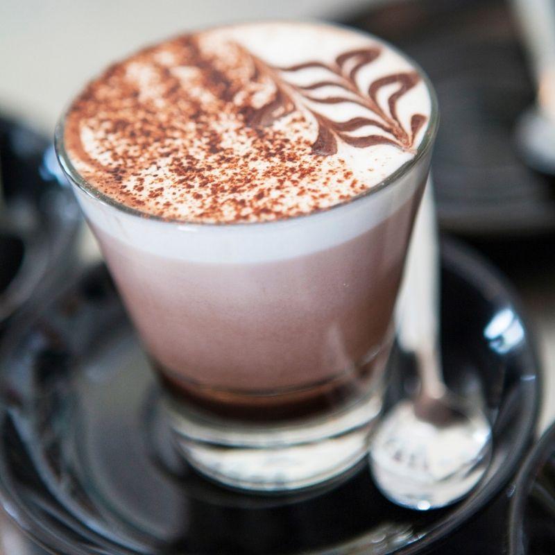 Chocolate drink at Primary@Pioneers Park